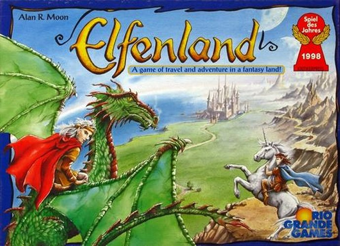 Elfenland the board game