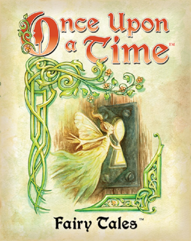 Markorama Games: Detail Page Fairy Tale Book Once Upon A Time